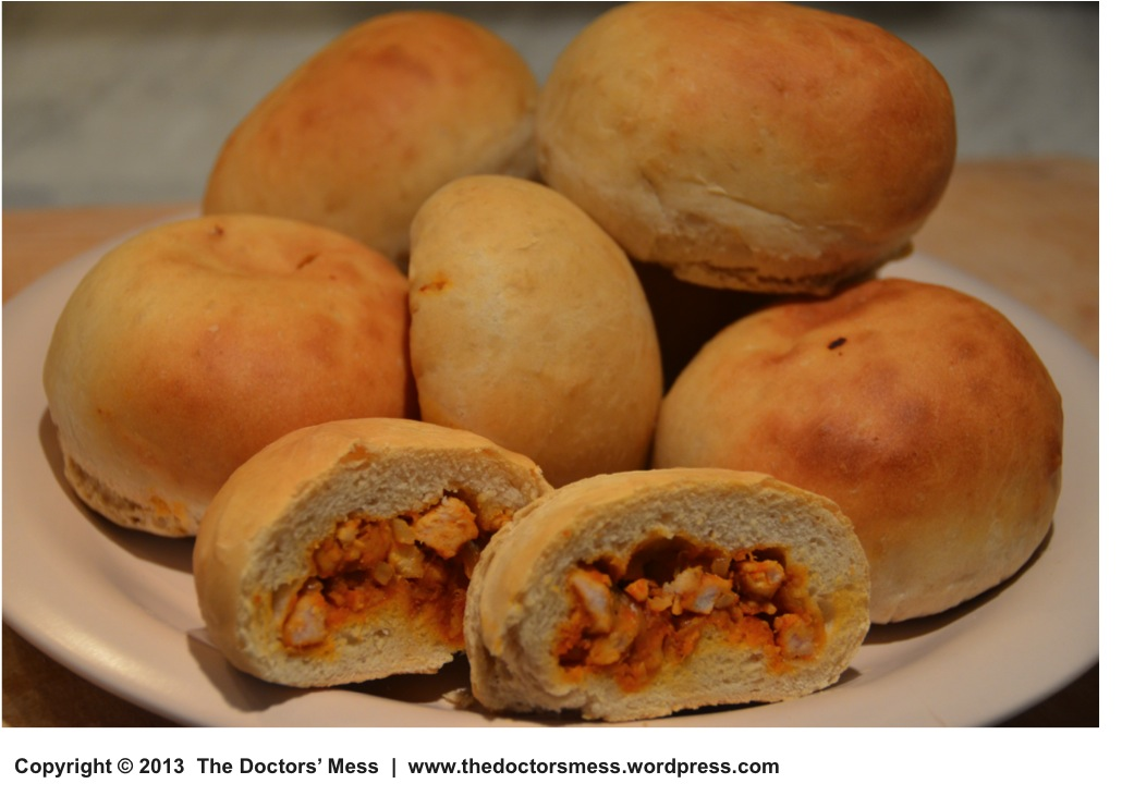 Stuffed Bread Rolls The Doctors Mess